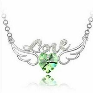 💚Green💚Love💚Wings💚Necklace💚